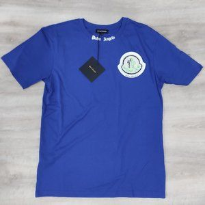Palm Angels Parliament Blue New T-shirt For Men